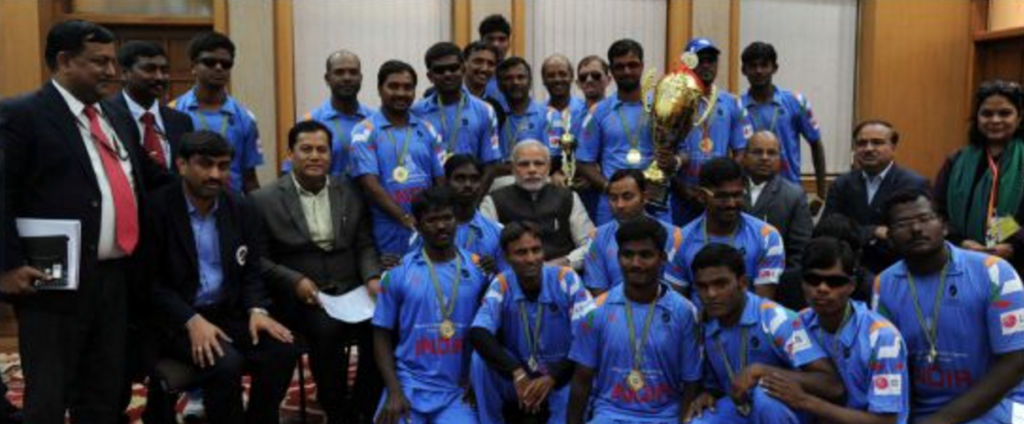 Cricket World Cup for the Blind - Samarthanam