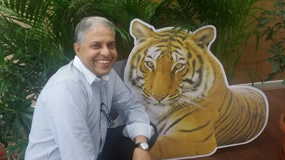 Selfie with Tiger