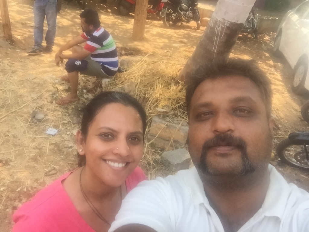 Smitha and Madhuchandan SC